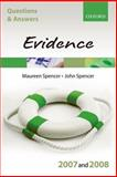 Evidence, Spencer, Maureen and Spencer, John, 0199299463