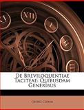 De Breviloquentiae Taciteae, Georg Clemm, 1147789460