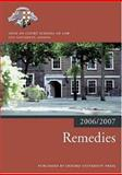 Remedies 2006-07, Inns of Court School of Law, 0199289468
