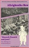 Alrightniks Row, Samuel Ornitz, 0910129460