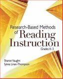 Research-Based Methods of Reading Instruction, Grades K-3, Vaughn, Sharon and Linan-Thompson, Sylvia, 0871209462