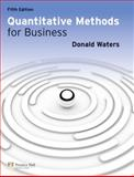 Quantitative Methods for Business, Waters, Donald, 0273739476
