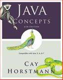 Java Concepts : Compatible with Java 5, 6 and 7, Horstmann, Cay S., 0470509473