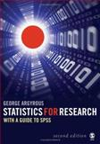 Statistics for Research : With a Guide to SPSS, Argyrous, George, 1412919479