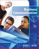 Business Communication, Means, Thomas, 0538449470