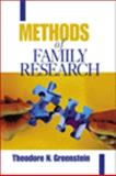 Methods of Family Research, Greenstein, Theodore N., 0761919473