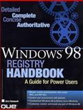 The Windows 98 Registry Handbook, Jerry Honeycutt, 0789719479