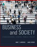Business and Society : Stakeholders, Ethics, Public Policy, Lawrence, Anne E. and Weber, James, 0078029473