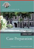 Case Preparation 2006-07, Inns of Court School of Law, 0199289476