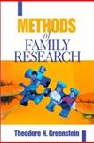 Methods of Family Research, Greenstein, Theodore N., 0761919481