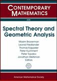 Spectral Theory and Geometric Analysis, M. A. Shubin, 0821849484