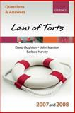 Law of Torts 2007-2008, Oughton, David W. and Marston, John, 019929948X