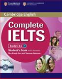 Complete IELTS Bands 5-6. 5 Student's Book with Answers with CD-ROM, Guy Brook-Hart and Vanessa Jakeman, 0521179483
