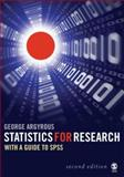 Statics for Research : With a Guide to SPSS, Argyrous, George, 1412919487