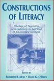 Constructions of Literacy : Studies of Teaching and Learning in and Out of Secondary Classrooms, , 0805829482