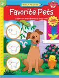 Watch Me Draw Favorite Pets, Jenna Winterberg, 1560109483