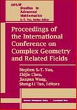 Proceedings of the International Conference on Complex Geometry and Related Fields, Stephen S.-T. Yau, Zhijie Chen, Jianpan Wang, and Sheng-Li Tan, 0821839497