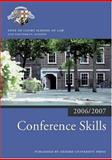 Conference Skills 2006-07, Inns Of Court School Of Law, 0199289492