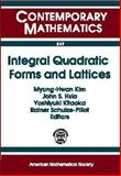Integral Quadratic Forms and Lattices, China) International Conference on Advances in Structural Dynamics (2000 : Hong Kong, 0821819496