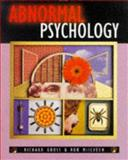 Abnormal Psychology, Gross, Richard D. and McIlveen, Rob, 0340679506