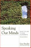 Speaking Our Minds 1st Edition