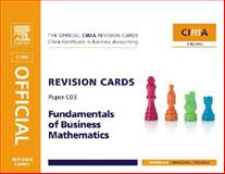 CIMA Revision Card Fundamentals of Business Maths, Avis, Jo, 0750689501