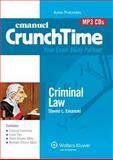 Crunchtime Audio : Criminal Law 4e, Emanuel, Steven, 0735599505