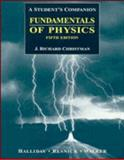 Fundamentals of Physics : A Student's Companion, Halliday, David, 0471159506