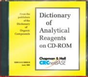 Dictionary of Analytical Reagents, Siegel, Dana Sing-Yung Ed. Sing-Yung Ed. Sin Wu, Ruzicka, 0412589508