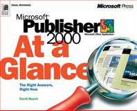 Microsoft Publisher 2000 at a Glance 9781572319509