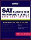Kaplan SAT: Mathematics Level 1, Kaplan, 0743279514
