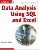 Data Analysis Using SQL and Excel, Linoff, Gordon S., 0470099518