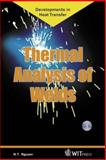 Thermal Analysis of Welds 9781853129513