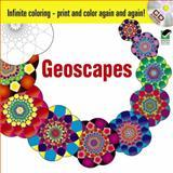 Infinite Coloring Geoscapes, Hop David, 0486469514