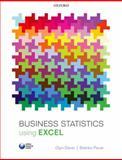 Business Statistics Using Excel, Glyn Davis and Branko Pecar, 0199659516