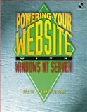 Powering Your Web Site with Windows NT Server, Nik Simpson, 1882419510