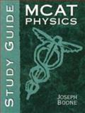 MCAT Physics, Giancoli and Boone, Barry, 0136279511
