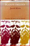 Plato's Trilogy, Jacob Klein, 0226439518