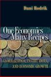 One Economics, Many Recipes : Globalization, Institutions, and Economic Growth, Rodrik, Dani, 0691129517