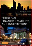 European Financial Markets and Institutions, de de Haan, Jakob and Oosterloo, Sander, 0521709520