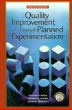 Quality Improvement Through Planned Experimentation 9780070439528