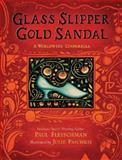 Glass Slipper, Gold Sandal