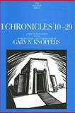 I Chronicles 10-29, Knoppers, Gary N., 0300139535