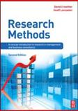 Research Methods : A Concise Introduction to Research in Management and Business Consultancy, Crowther, David and Lancaster, Geoff, 0750689536