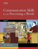 Communication Skills for the Processing of Words, Reiff, Roseanne, 0538439548