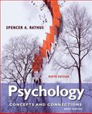 Psychology : Concepts and Connections, Brief Version, Rathus, Spencer A., 1133049540