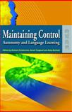 Maintaining Control : Autonomy and Language Learning, Toogood, Sarah, 9622099548