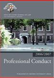 Professional Conduct 2006-07, Inns of Court School of Law, 0199289557