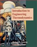Introduction to Engineering Thermodynamics, Sonntag, Richard E. and Borgnakke, Claus, 0471129550