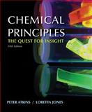 Chemical Principles, Atkins, Peter and Jones, Loretta, 1429219556